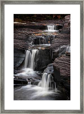 Usa, Michigan, Upper Peninsula Framed Print by Jaynes Gallery