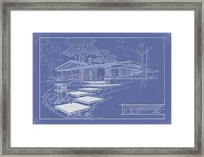 301 Cypress Drive - Reverse Framed Print by Larry Hunter
