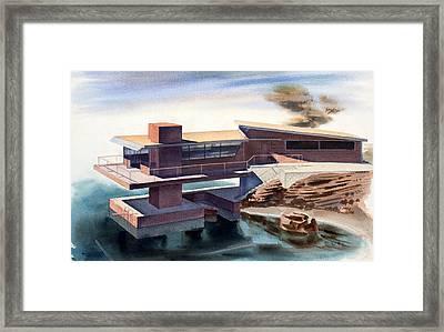 Modern Dream Framed Print by Robert Poole