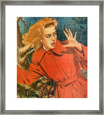 1950s Uk Illustrations Magazine Plate Framed Print by The Advertising Archives
