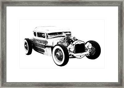 31 Model A Framed Print by Guy Whiteley