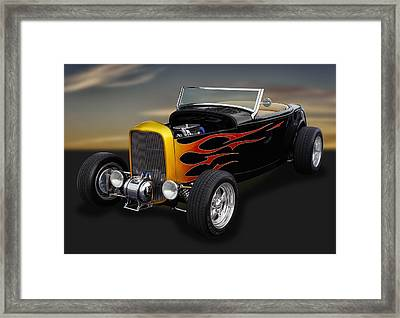 1932 Ford - Grounds 4 Divorce Framed Print by Frank J Benz