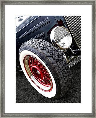 32 Ford Roadster Framed Print by Gill Billington