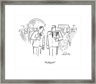 Untitled Framed Print by Mike Twohy