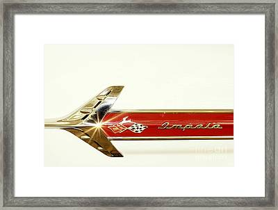 348 This Way Framed Print by Benanne Stiens