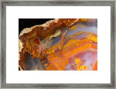 Rock Star Framed Print by Jean Noren