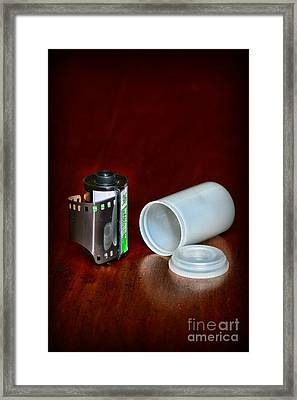 35mm Film Framed Print by Paul Ward