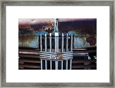 37 Gmc Framed Print by Kurt Golgart