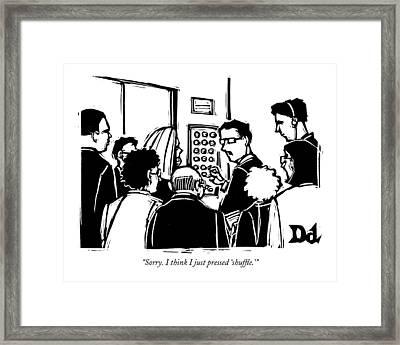 Untitled Framed Print by Drew Dernavich