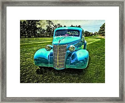 38 Chevrolet Classic Automobile Framed Print by Thom Zehrfeld
