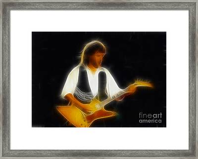 38 Special-94-jeff-gc25-fractal Framed Print by Gary Gingrich Galleries