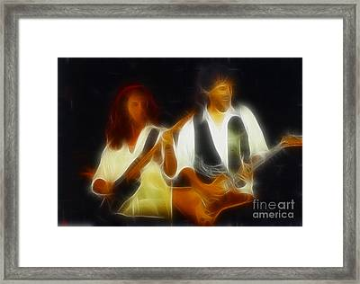 38 Special-94-jeffndanny-gc1a-fractal Framed Print by Gary Gingrich Galleries