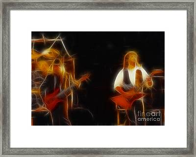 38 Special-94-larry N Jeff-gb20a-fractal Framed Print by Gary Gingrich Galleries