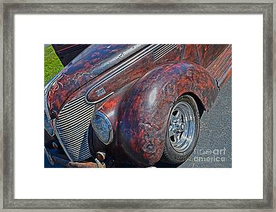 39 Ford Pick Up Rusty Relic  Framed Print by JW Hanley