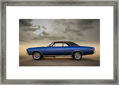 396 Super Sport Framed Print by Douglas Pittman