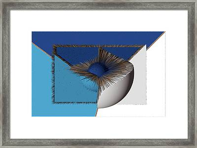 3d Abstract 19 Framed Print by Angelina Vick
