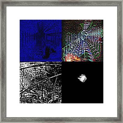 3d Art Framed Print by HollyWood Creation By linda zanini