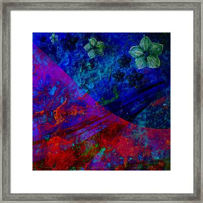 3d Optical Illusion Framed Print by Ally  White