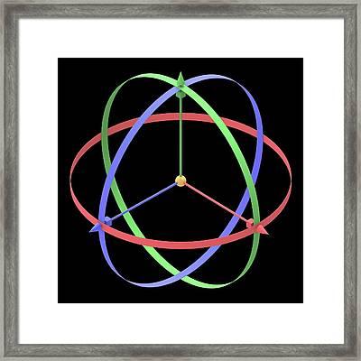 3d X Framed Print by Alfred Pasieka