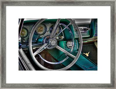 1966 Ford Thunderbird Framed Print by David Patterson