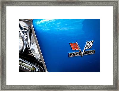 1967 Chevy Chevelle Ss Framed Print by David Patterson