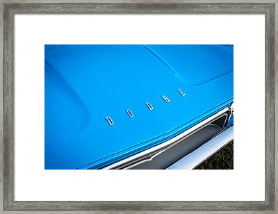 1972 Dodge 340 Challenger Painted  Framed Print by Rich Franco