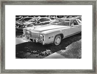 1978 Cadillac Eldorado Framed Print by Rich Franco