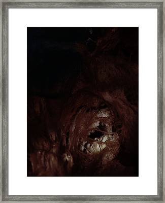 A Condition Of Anonymity Framed Print by David Fox