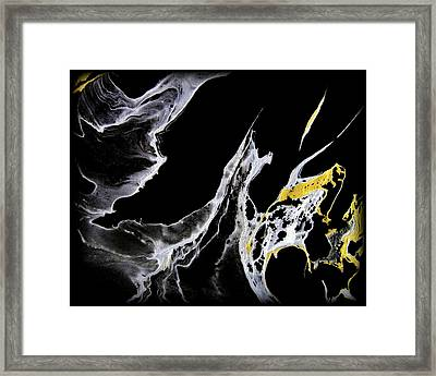Abstract 35 Framed Print by J D Owen