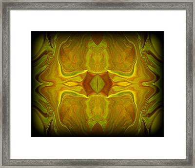 Abstract 45 Framed Print by J D Owen