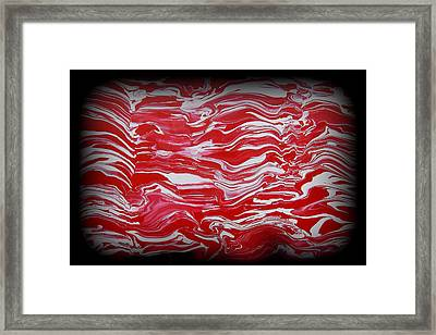 Abstract 85 Framed Print by J D Owen
