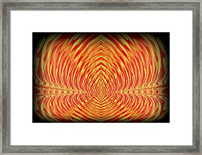 Abstract 98 Framed Print by J D Owen