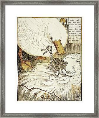 Andersen Ugly Duckling Framed Print by Granger