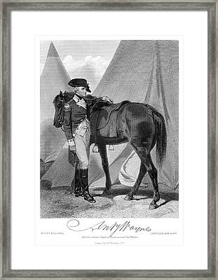 Anthony Wayne (1745-1796) Framed Print by Granger
