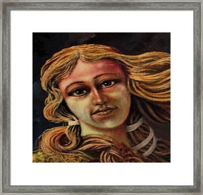 Aphrodite-venus Framed Print by Genio GgXpress