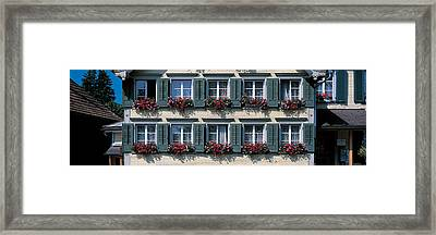 Appenzell Switzerland Framed Print by Panoramic Images
