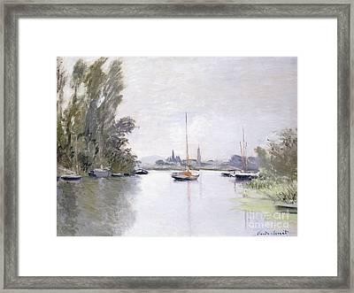 Argenteuil Framed Print by Claude Monet