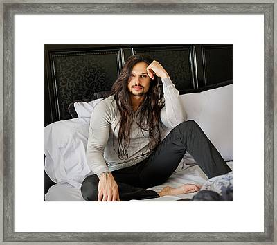 Ash Armand Framed Print by Invicta