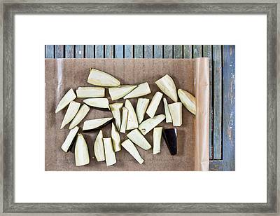 Aubergine  Framed Print by Tom Gowanlock