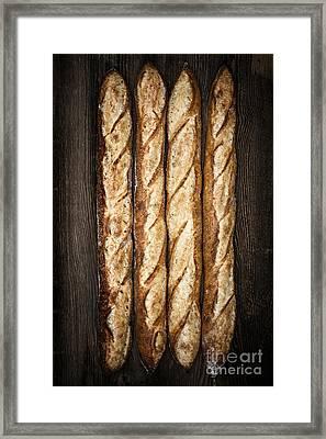 Baguettes Framed Print by Elena Elisseeva