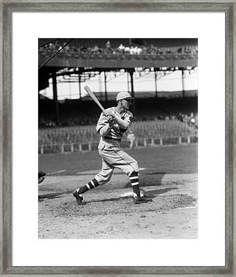 Baxter B. Buck Jordan Framed Print by Retro Images Archive