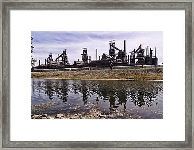 Bethlehem Steel Framed Print by Michael Dorn