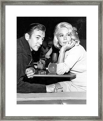 Bobby Darin Framed Print by Silver Screen