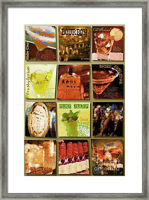 Bourbon Framed Print by Laura Toth