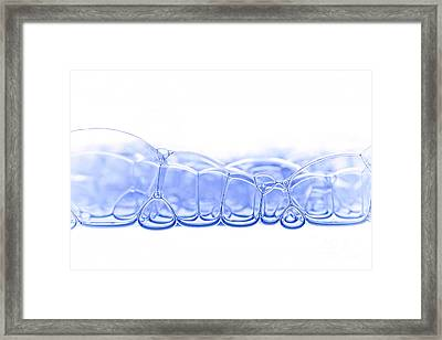 Bubbles Framed Print by Michal Boubin
