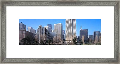 Buildings In A City, San Francisco Framed Print by Panoramic Images