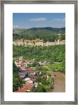 Bulgaria, Central Mountains, Veliko Framed Print by Walter Bibikow