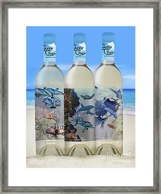 Carey Chen Fine Art Wines Framed Print by Carey Chen