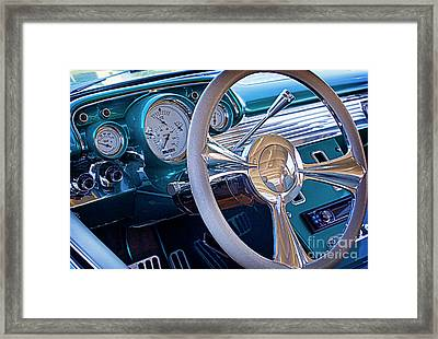 Chevy 1957 Bel Air Framed Print by Elena Nosyreva