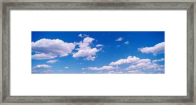 Clouds Framed Print by Panoramic Images